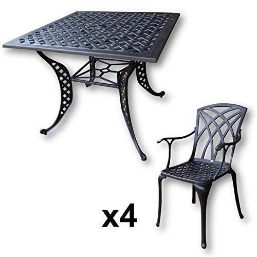 lazy-susan-lucy-91-cm-quadratischer-gartentisch-mit-4-stuehlen-gartenmoebel-set-aus-metall-antik-bronze-april-stuehle-2