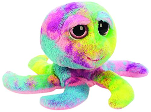Suki Gifts - Li'l Peepers Fun 'Ottavio' Octopus Blu, Giocattolo morbido, Piccola