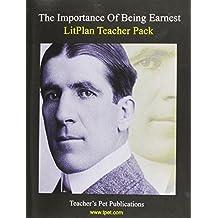 Litplan Teacher Pack: The Importance of Being Earnest