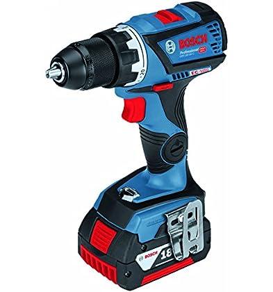 Bosch 0615990J09 Taladro, 18 V, Negro, Azul, Rojo