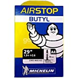 Michelin Long Valve Air Stop Butyl Inner PV Tube - Black, 29 x 1.9/2.6 Inch
