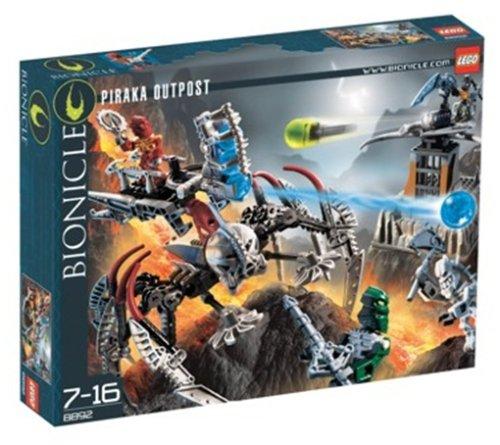LEGO 8892 - BIONICLE 8892 Piraka-Außenposten (Piraka Bionicle)