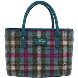 NESS Beauly - Bolso de mano para mujer, diseño de tweed, multicolor, color, talla Talla única