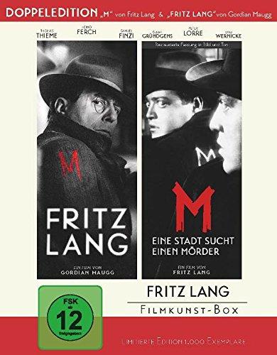 Bild von Fritz Lang Filmkunst-Box (Blu-ray) - (Double Feature: 'Fritz Lang' + 'M - Eine Stadt sucht einen Mörder') - bundesweit streng limitiert auf 1.000 Boxen! [Limited Edition]