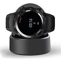 Ceston Reemplazo Cargador Charger Base de Carga para Huawei Watch 2 (Negro)