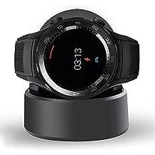 Huawei Watch 2 Cargador, Ceston Reemplazo Charger Base de Carga para Huawei Watch 2, Negro