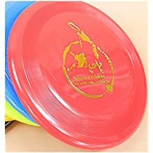 Spritech (TM) Pet Dog frisbee Flying Disc Tooth Resistant Outdoor Dog training Fetch Toy colore casuale