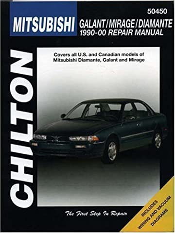 Mitsubishi Galant, Mirage, and Diamante, 1990-00 (Haynes Repair Manuals) 1st edition by Chilton (2000) Paperback