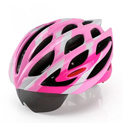 Casco Da Bicicletta Casco Mold MTB Casco Da Bicicletta (con (Nuovo D & G Degli Occhiali)