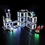 BRIKSMAX Kit di Illuminazione a LED per Lego City Stazione di Polizia, Compatibile con Il Modello Lego 60141 Mattoncini… LEGO
