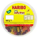 Haribo Little Jelly Men, 400g Drum