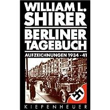 Berliner Tagebuch, Aufzeichnungen 1934-1941