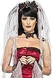 Smiffys 23343 Gothic-Braut-Kostüm-Kit, Einheitsgröße
