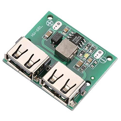 USB DC-DC-Spannungs-Buck-Regler Step Down Power Lademodul Ausgang 9V / 12V / 24V bis 5V Dual USB-Ausgangs-Buck-Spannungsplatine 3A Autoladeregler DIY USB-Netzteilmodul -