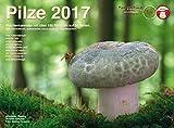 Wochenkalender Pilze 2017: Wandkalender mit über 100 Pilzarten auf 56 Seiten