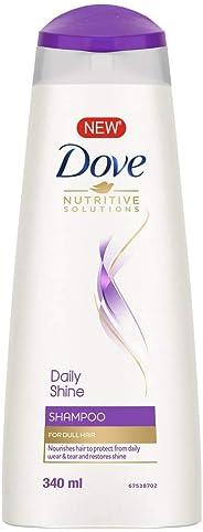 Dove Daily Shine Shampoo, 340ml