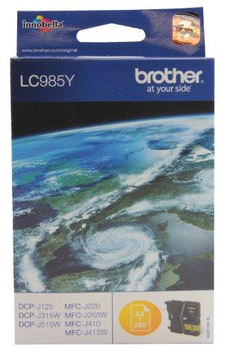 Brother LC-985Y Tintenpatrone gelb
