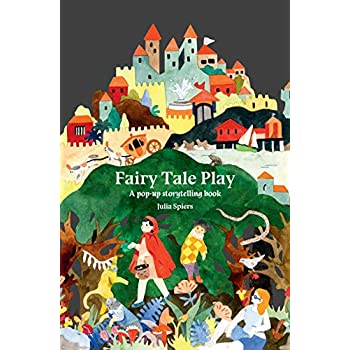 Fairy tale play a pop-up storytelling books