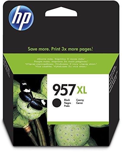 Preisvergleich Produktbild HP 957XL Schwarz Original Druckerpatrone mit hoher Reichweite für HP Officejet Pro