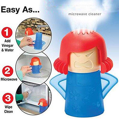 Limpiador al vapor microondas rapido y efectivo mama enfadada de OPEN BUY