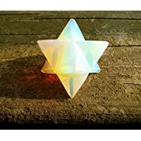 """piedra Merkaba """"Piedra de la eternidad de Star Energía Curación Meditación Herramienta Sagrado de la geometría Tetraedro Altar, cristal Decor Spiritual Gifts"""