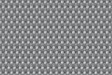 Sellon24 Polyrattan Balkonverkleidung Sichtschutz Balkonsichtschutz anthrazit braun weiß schwarz Kupfer grün Meterware Balkonbespannung 17,49€ / Quadratmeter (H 110cm, RD17 - Silber Grey)