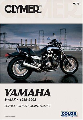 Yamaha V-max 1200 88-03 (CLYMER MOTORCYCLE REPAIR)