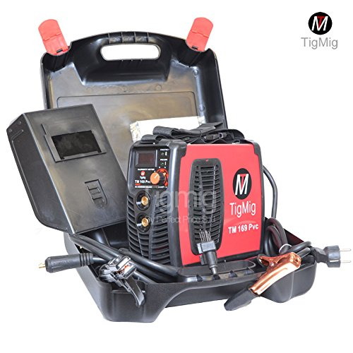 SALDATRICE INVERTER TM 169 PVC MMA 170 AMP ELETTRODO VALIGIA IN ROBUSTA...