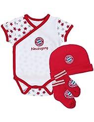 FC Bayern München Baby Set, rot, Einzelgrößen:56
