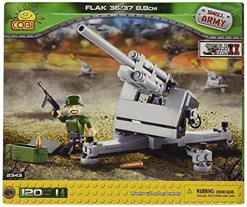 COBI SMALL ARMY WWII - 2343 - FLAK 36/37 8,8CM (CANON LOURD)