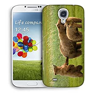 Snoogg Family Of Bear Printed Protective Phone Back Case Cover For Samsung S4 / S IIII