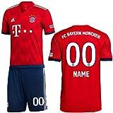 ADIDAS FCB FC Bayern München Set Home Heimset 2018 2019 Kinder Wunschname 00 Gr 176