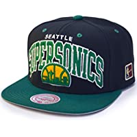 Mitchell & Ness Seattle SuperSonics Team Arch Snapback NBA Cap /w HWC Patch