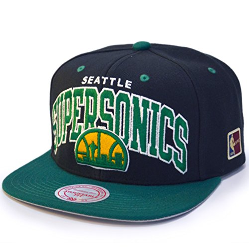 Mitchell & Ness Snapback Cap - HWC Seattle SuperSonics