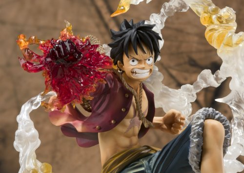 "Bandai Tamashii Nations Monkey. D. Luffy ""One-Piece"" FiguartsZERO Figure (Battle Version) (japan import) 7"