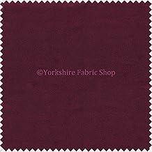 Luz suave tela de ante peso ideal para persianas cojines tapicería cortinas sofá muebles morado–vende por metro–telas de precio barato