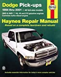 Dodge Full-Size Pickups, 1994-2001 (Haynes Manuals)
