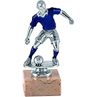 Art-Trophies AT81371 Trofeo Deportivo, Plateado/Azul, 17