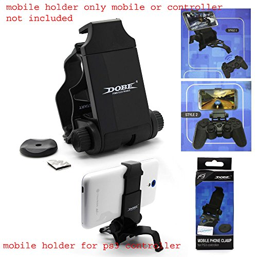 New World DOBE Mobile Phone Clamp holder for Sony Playstation3 PS3 wireless Controller
