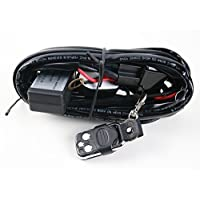 VC 3metros cableado Kit de dureza 300W, potencia máxima de 324W LED HID luz de trabajo Bar conexión de interruptor relé con 60A 12V Fusible