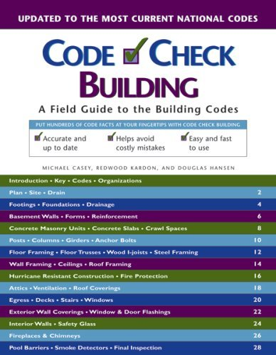 Bon Tool Co. Text Book Code Check Building by BON - Bon Tool Co
