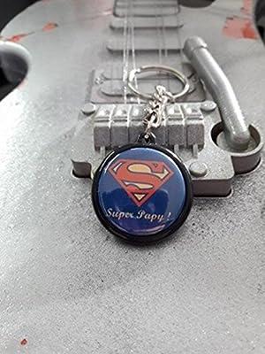 Porte Clé Super Papy