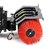 BRAST Benzin Kehrmaschine Schneefräse Schneeschieber 4,8kW(6,5PS) 80cm Breite Elektrostart Schnellwechsel-System 4 in 1 Gerät Test