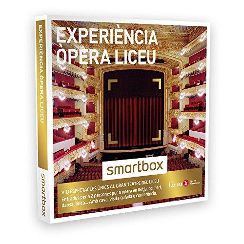 SMARTBOX – Caja Regalo – EXPERIÈNCIA ÒPERA LICEU – Entrades per a òpera en llotja, concert, dansa, lírica… al Gran Teatre del Liceu