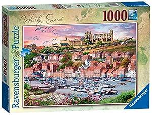 Ravensburger 15004 Whitby Sunset Rompecabezas de 1000 Piezas,