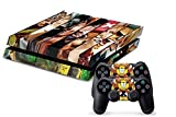 LoveBlue One Piece Vinyl Sticker Skin For PS4 PlayStation 4 Console+Free Controller Cover Decal by EloBeth