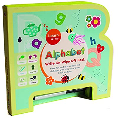 Early Learning Alphabet Write on Wipe off Book -
