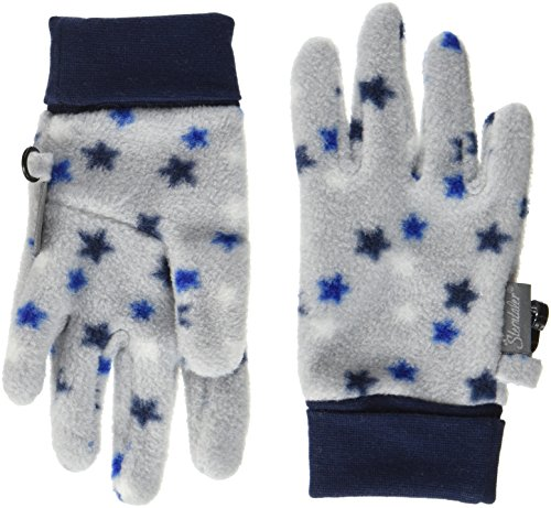 Sterntaler Jungen Handschuhe 4321710-Fingerhandschuh, Blau (Marine 300), 5