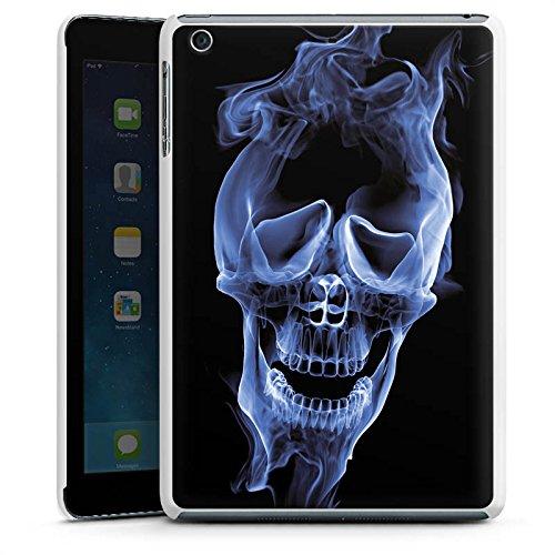 d Mini 3 Hülle Schutz Hard Case Cover Halloween Skull Rauch ()