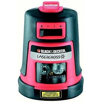 Black + Decker LZR6 Laser en croix avec une ligne horizontale et une ligne verticale